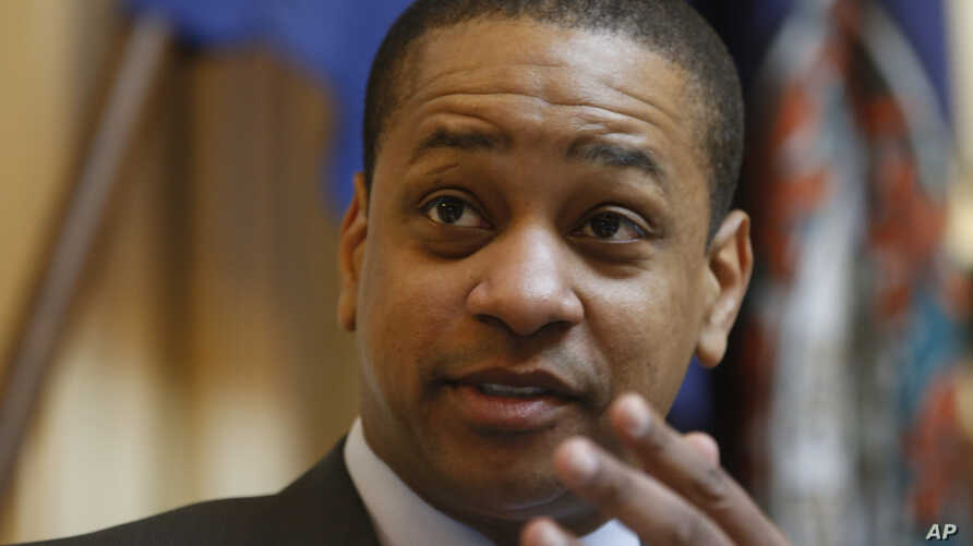 Virginia Lt. Gov. Justin Fairfax presides over the Senate at the Capitol in Richmond, Feb. 22, 2019. The chairman of the House Courts of Justice committee announced they will hold a hearing on the sexual accusations that have been placed against Fair