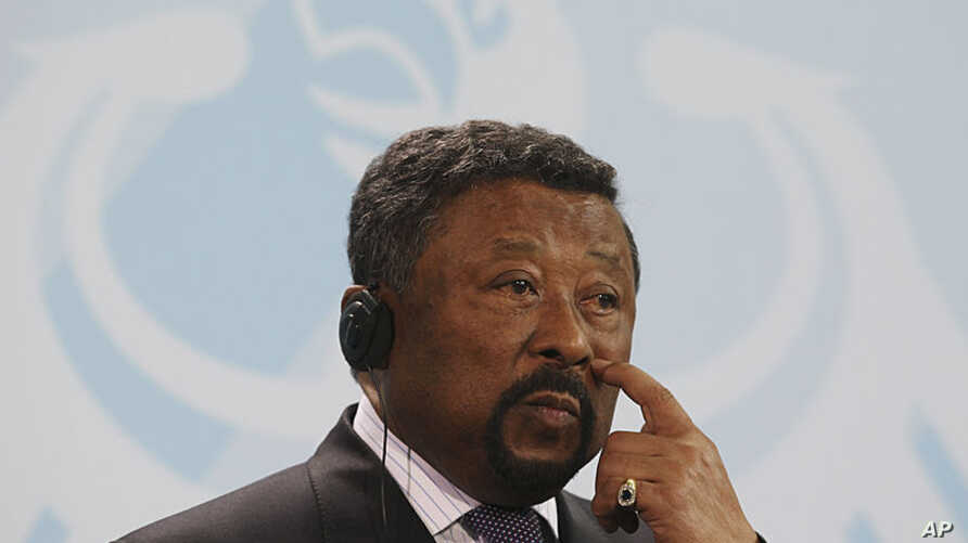 Chairman of the Commission of the African Union Jean Ping in July 2011.