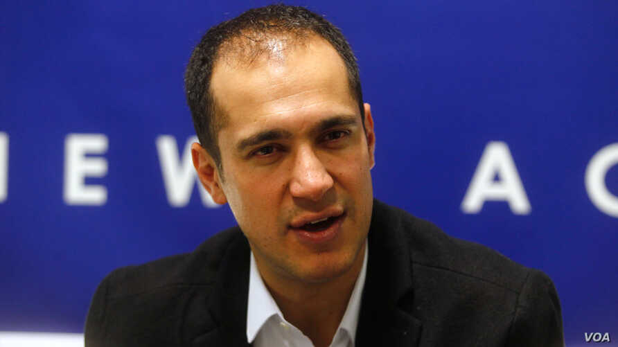 Kaveh Madani, an American-educated water management expert, served as deputy head of Iran's Department of Environment from September 2017 to April 2018. He is now a senior fellow at Yale University.