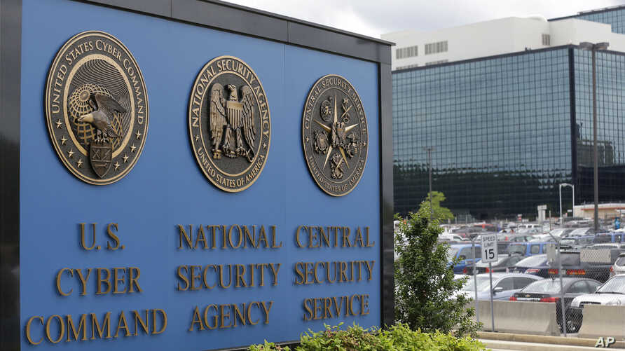 FILE - The National Security Agency in Fort Meade, Maryland, says classified information was stolen by a former NSA contractor and included the names of covert intelligence officers.