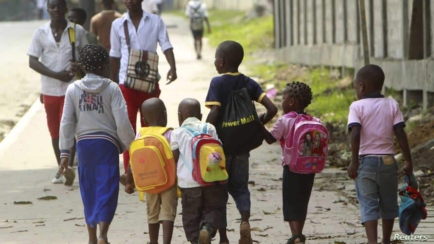 Some students in Gabon will begin learning English as well as French this year. (Amr Dalsh/Reuters)