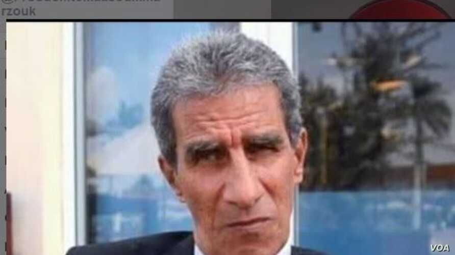 A screenshot of a Facebook page calling for the release of Egypt's former undersecretary for foreign affairs, Ambassador Masoum Marzouk, Aug. 27, 2018. Marzouk and six other activists were arrested on Thursday and detained for 15 days pending investi