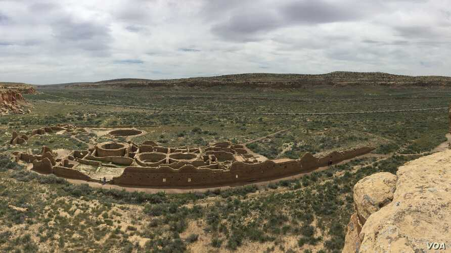Chaco Culture National Historical Park has the largest, best preserved, and most complex prehistoric architectural structures in North America