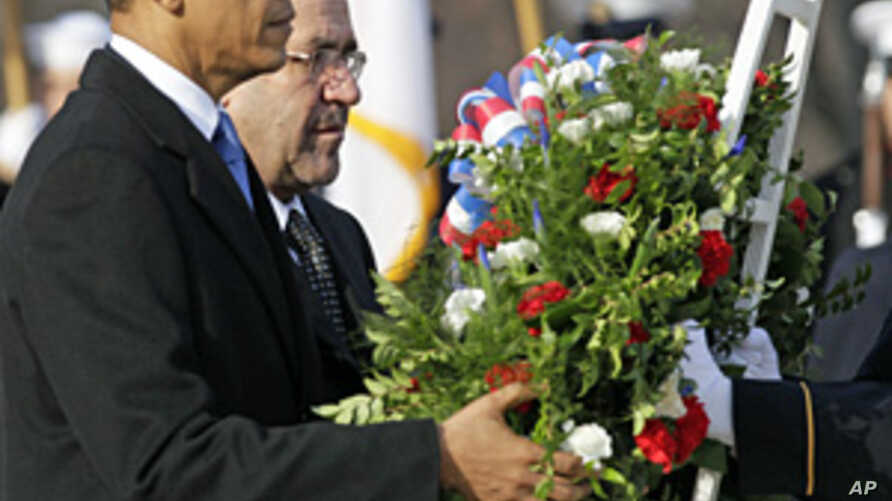 Obama, Maliki Hail 'New Chapter' for Iraq Without US Troops