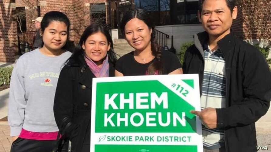 Victor in Illinois Is First Cambodian-American Woman Elected