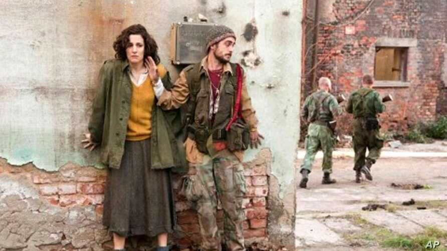 """Zana Marjanovic in a scene from """" In the Land of Blood and Honey """""""