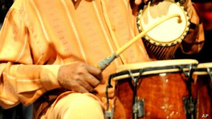 Yacub Addy, a Ghanaian music, drum master has been a professor at the Music Department of Skidmore College in Saratoga Springs since 1995.