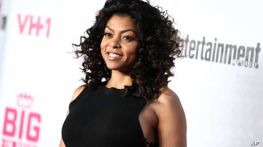 FILE - Taraji P. Henson attends the VH1 Big In 2015 with Entertainment Weekly Award Show.