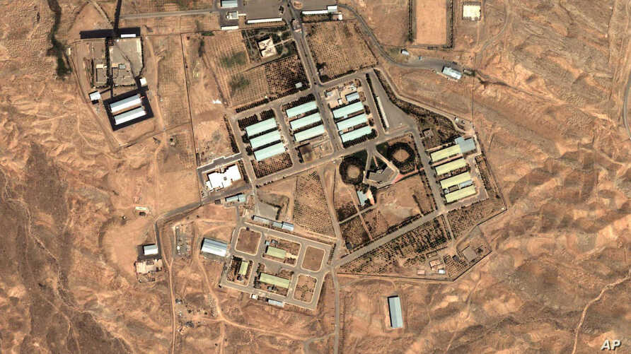 Aug. 13, 2004 satellite image provided by DigitalGlobe and the Institute for Science and International Security shows the military complex at Parchin, Iran, 30 km (about 19 miles) southeast of Tehran.