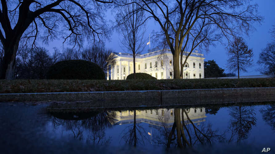 The North Portico of the White House is seen, Friday, Dec. 28, 2018, in Washington. The partial government shutdown will almost certainly be handed off to a divided government to solve in the new year, as both parties traded blame Friday and Presiden