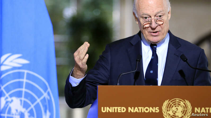 Staffan de Mistura Geneva, Switzerland, January 12, 2017