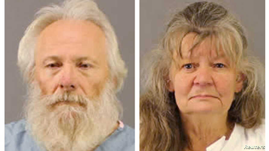 From left, Bruce and Deborah Leonard were charged with manslaughter in the death of their 19-year-old son after allegedly beating him for hours during a family counseling session at a Christian church, in New York, police said, Oct. 14, 2015.