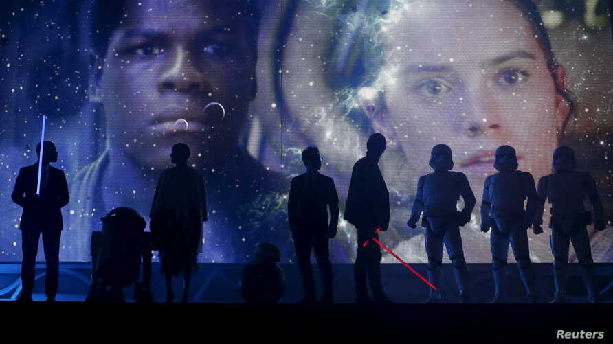 """FILE – """"Star Wars: The Force Awakens"""" debuts across the Un"""