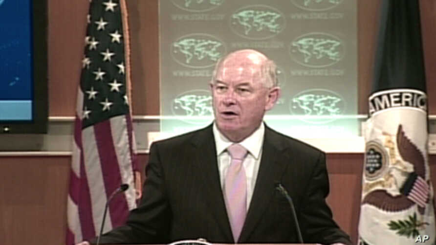 State Department Spokesman P.J. Crowley (file)