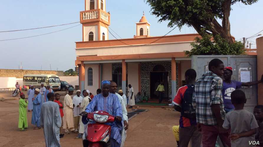 A mosque in Yaounde.