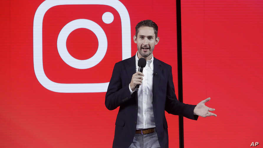 Kevin Systrom, CEO and co-founder of Instagram, prepares for an announcement about IGTV in San Francisco, June 19, 2018.