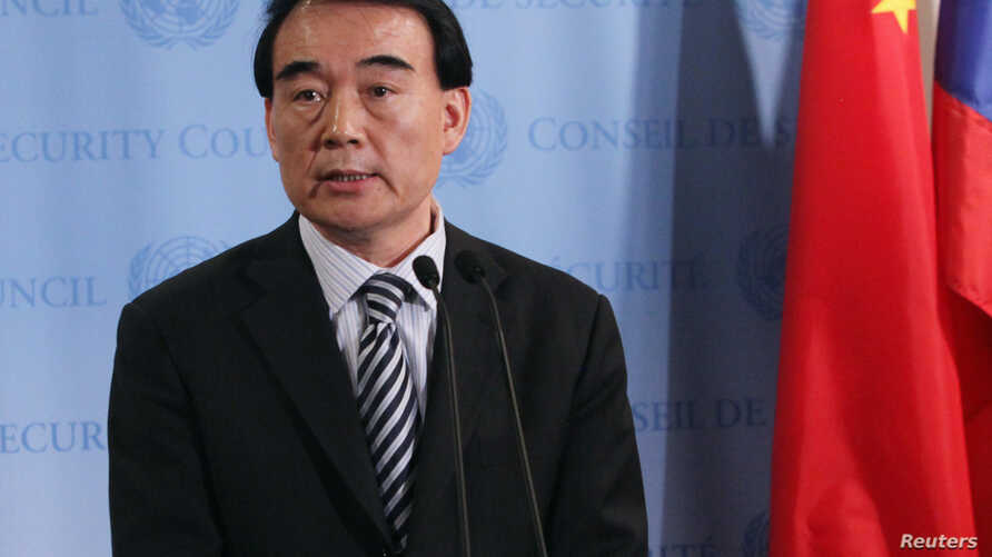 FILE - Chinese Vice Foreign Minister Li Baodong.