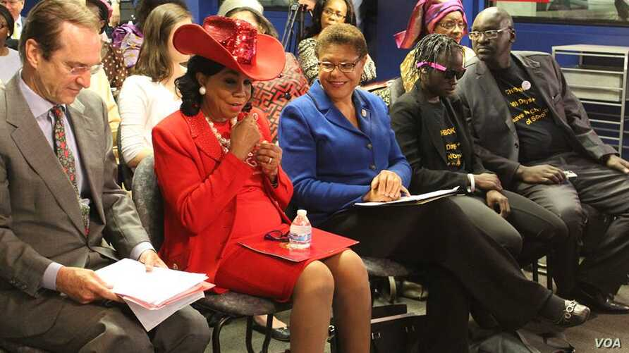 The 'Chibok Girls Not Forgotten' event brought together, f