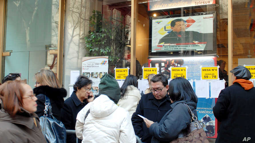 FILE - The Venezuelan Consulate in New York is seen in this Feb. 15, 2009, photo.