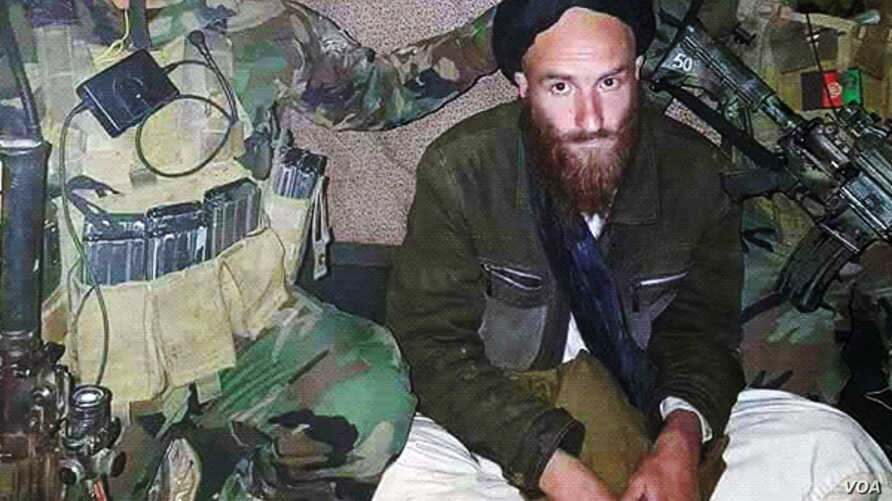A German national suspected of advising the Taliban was arrested by Afghan commandos in Helmand province, Feb. 27, 2018.