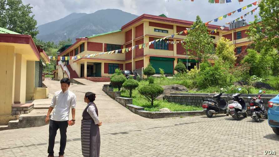 The Tibetan Reception Center in Dharamshala was built as a transit home for Tibetans who used to cross over from China but their number has dwindled sharply.