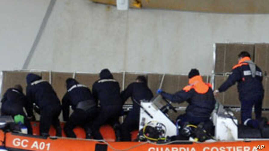 Divers Find 2 More Victims of Italian Cruise Ship Disaster