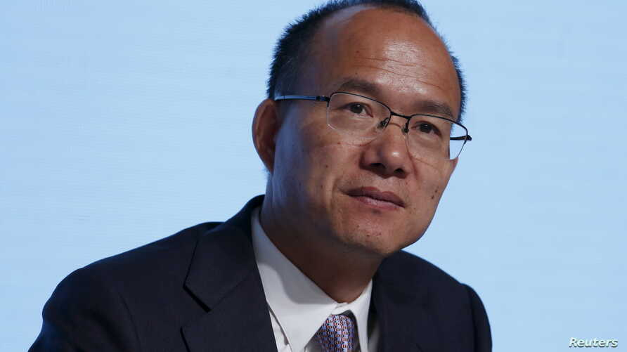 Billionaire Guo Guangchang, executive director and chairman of Fosun International, attends the annual general meeting of the Chinese conglomerate in Hong Kong, China, May 28, 2015.