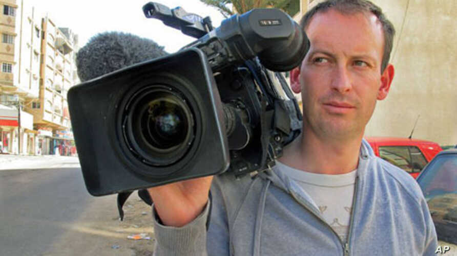 French journalist Gilles Jacquier, seen in this undated photo, was among several people killed in Syria's central city of Homs on January 11, 2012, becoming the first Western reporter to have died in 10 months of unrest in the country.