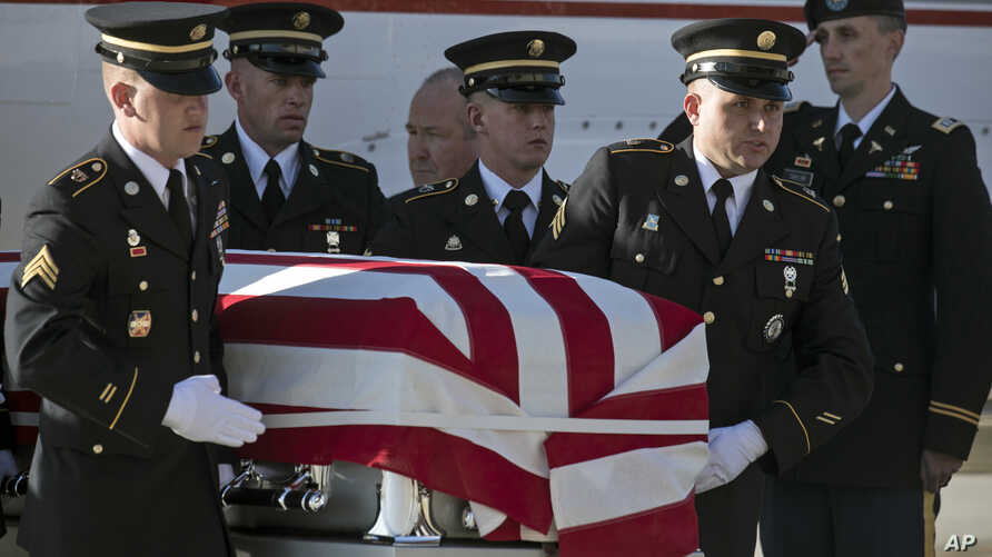A U.S. service member has been killed in combat in Afghanistan, the NATO-led Resolute Support mission said in a statement. Earlier this month, Maj. Brent R. Taylor was killed in Afghanistan and returned home to Utah.