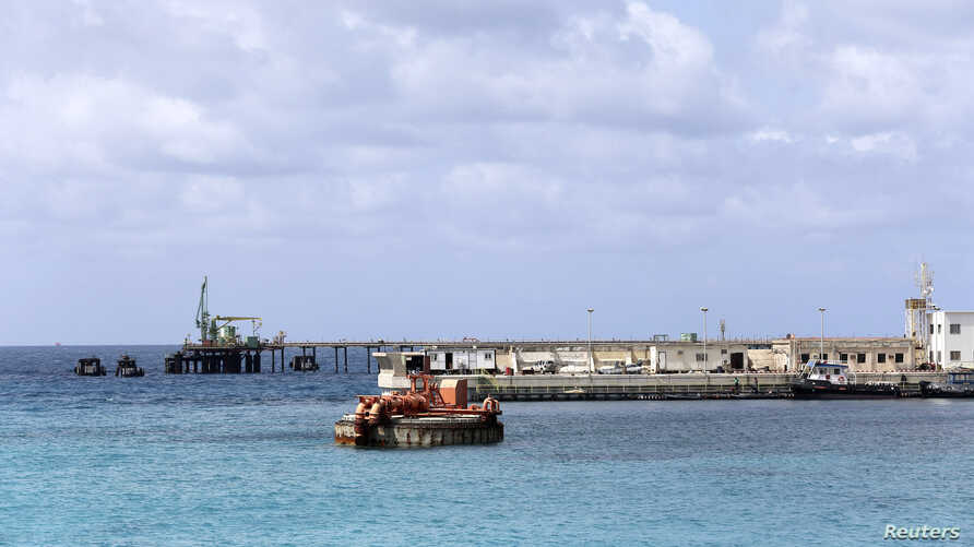 A general view of the Zueitina oil terminal is seen in Zueitina, west of Benghazi, Libya, April 7, 2014.