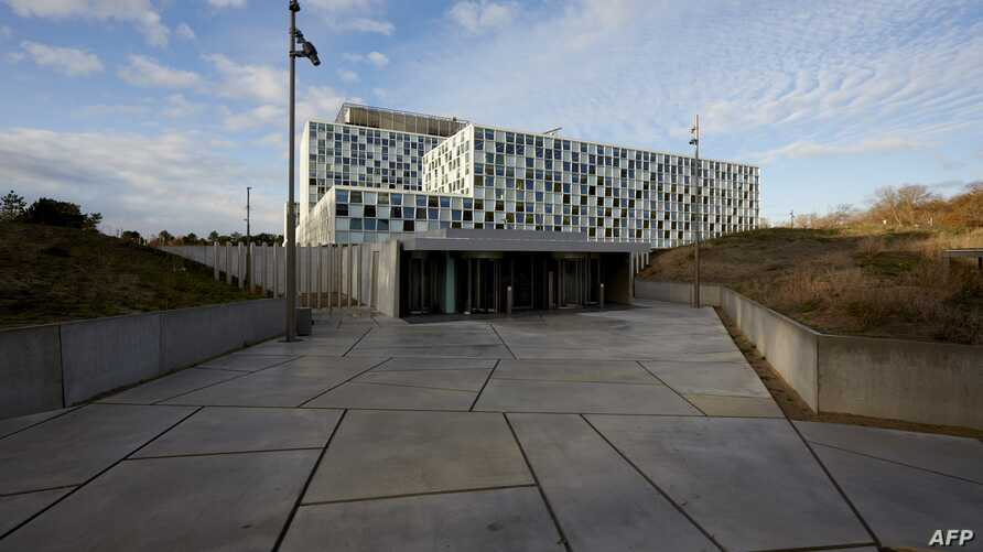 A picture taken on Nov. 23, 2015 shows the new building of the International Criminal Court (ICC) in The Hague, The Netherlands.