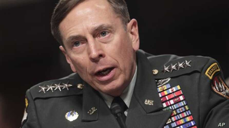 General David Petraeus, commander of U.S. and NATO forces in Afghanistan, testifies on Capitol Hill in Washington, March 15, 2011