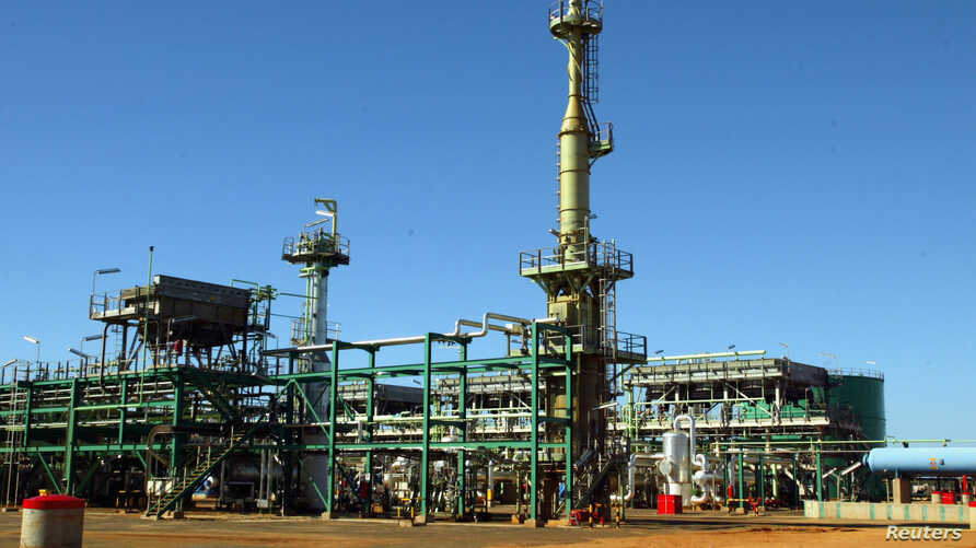FILE - A general view of Mozambique's Sasol gas project is seen in Temane, Mozambique, June 1, 2004.