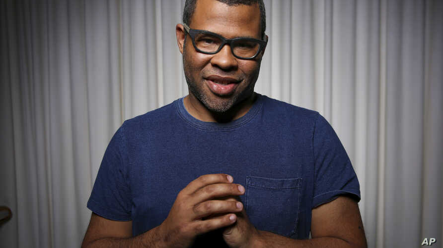 """Jordan Peele poses for a portrait at the SLS Hotel in Los Angeles, Feb. 9, 2017. Peele's directorial debut, """"Get Out,"""" functions both as a taut psychological thriller and as searing social commentary about racism in the modern era."""
