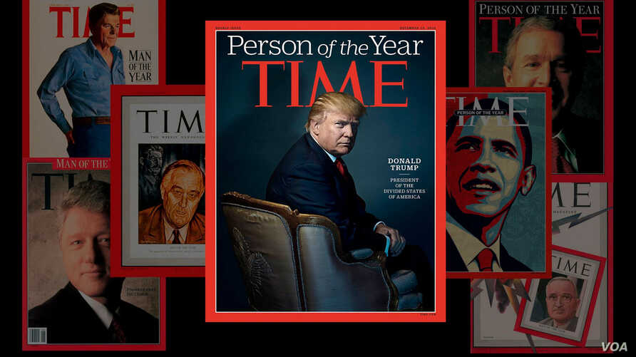 President-elect Donald Trump on the cover of TIME magazine (Photo via @TIME on Twitter)