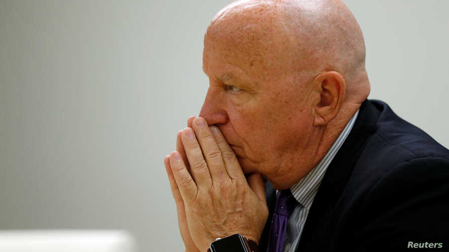 U.S. Representative Kevin Brady, R-Texas, chairman of the House Ways and Means Committee, sits for an interview about upcoming tax legislation proposals with Reuters journalists in Washington, July 19, 2017.