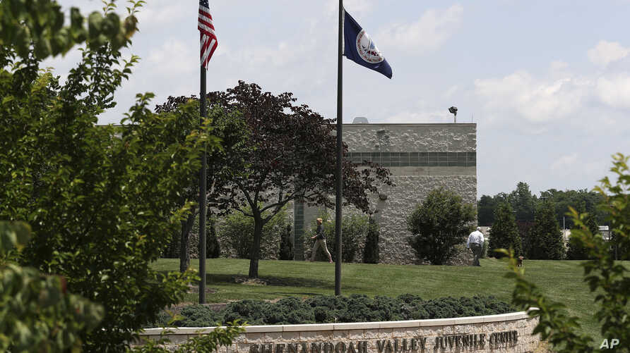 FILE - In this June 20, 2018 file photo, the Shenandoah Valley Juvenile Center is shown in Staunton, Virginia.