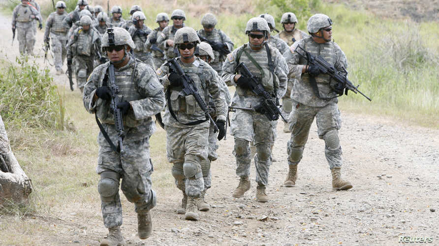 US Philippines Army Joint Exercise