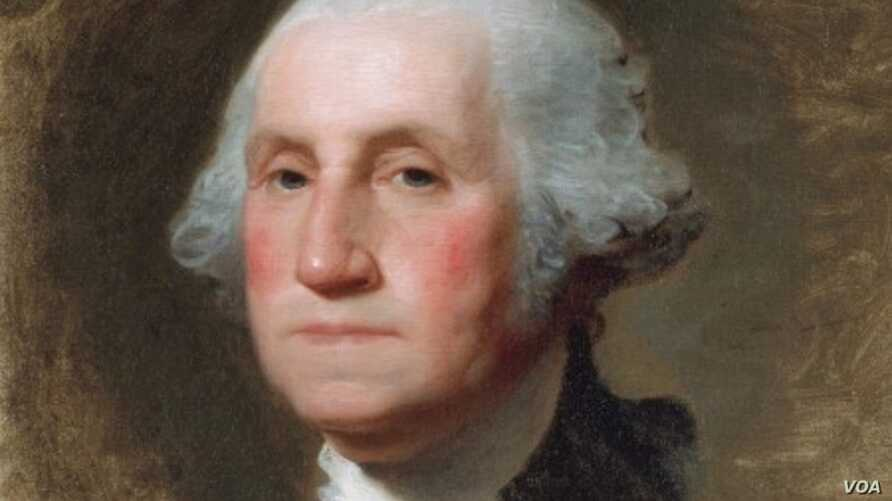 George Washington (The Athenaeum Portrait), 1796, oil on canvas. (courtesy of the National Portrait Gallery, Smithsonian Institution, Washington, and the Museum of Fine Arts, Boston, William Francis Warden Fund, John H. and Ernestine A. Payne Fund, C...