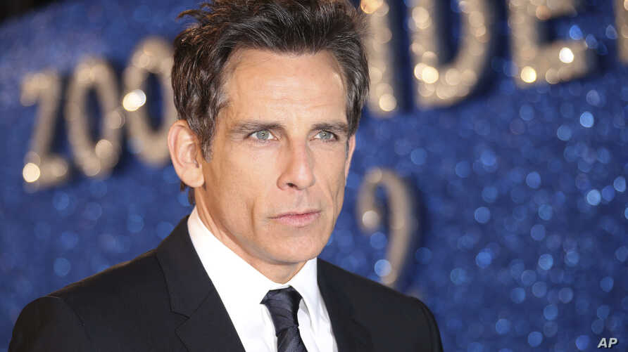 """FILE - Ben Stiller poses for photographers upon arrival at the premiere of the film """"Zoolander No.2,"""" in London, Feb. 4, 2016."""