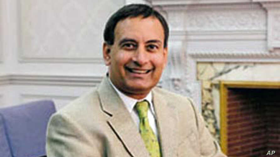Pakistan's Ambassador in the United States, Hussein Haqqani (File)