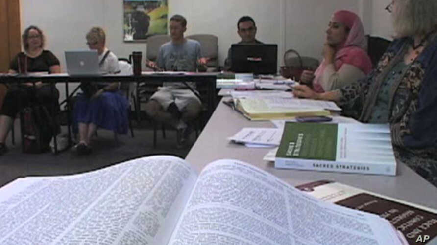 Christian, Jewish and Muslim students learn together in classrooms at the University Project, which aims to make religion more a source of peace in the world rather than a source of conflict.