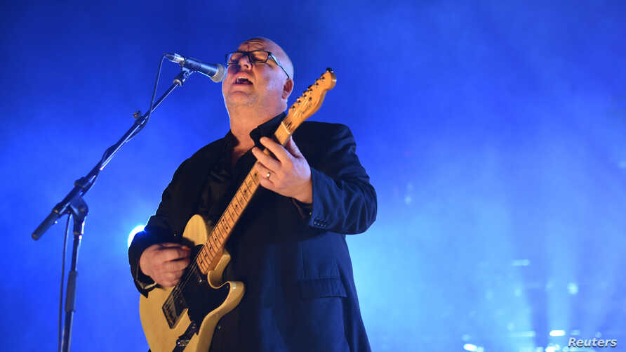 Pixies lead singer Black Francis performs at the O2 Academy, Brixton in London, Britain, Dec. 6, 2016.
