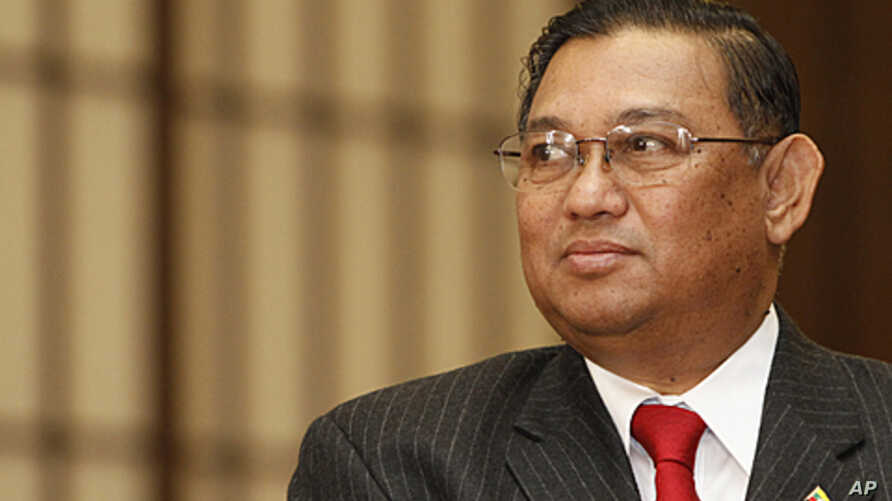 Burma's Foreign Minister Wunna Maung Lwin (File)