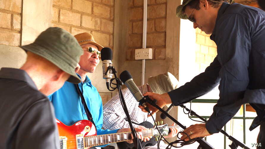 Producing the Tanzania Albinism Collective Project allowed Ian Brennan to work with people who are not identified as musicians and are just waiting for a chance to be heard.