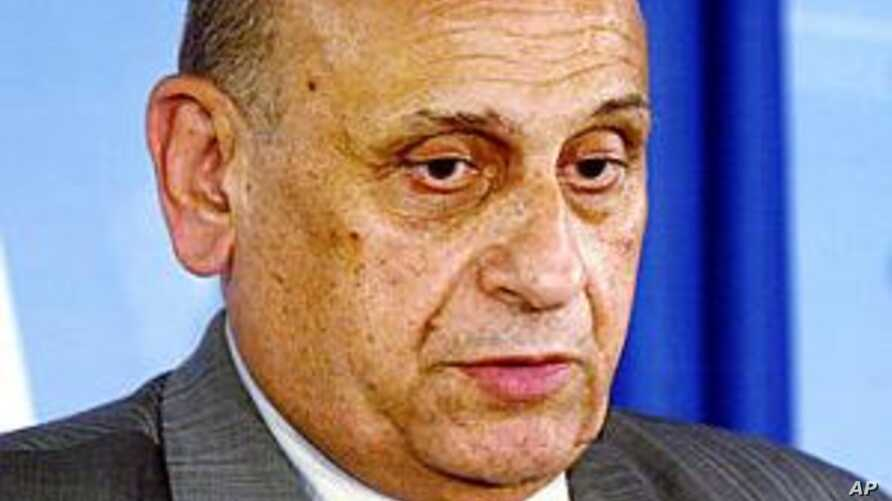 Former Egypt Foreign Minister Dies at 75