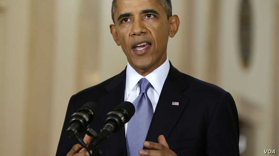 Obama:  Ideals, Principles at Stake in Syria, Allows for Diplomatic Efforts to Play Out