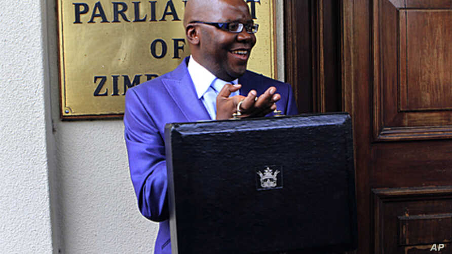 Zimbabwe's Finance Minister Tendai Biti arrives to deliver his budget speech in parliament in Harare, November 24, 2011.