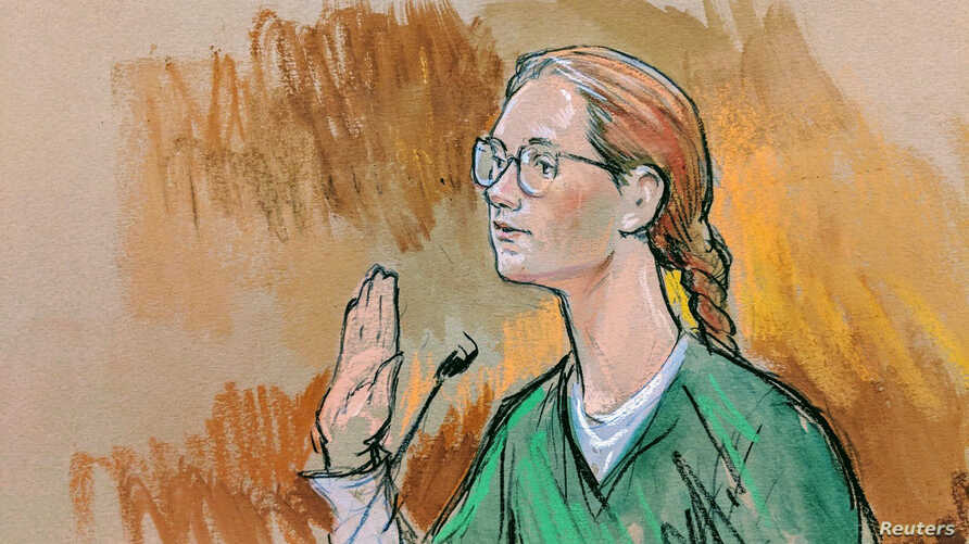 Accused Russian agent Maria Butina pleads guilty to a single conspiracy charge in a deal with prosecutors and admitted to working with a top Russian official to infiltrate a powerful gun-rights group and influence U.S. policy toward Moscow, in this c...