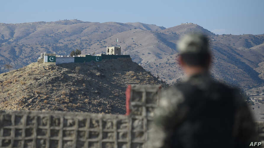 A Pakistani army soldier stands guard on a border terminal in Ghulam Khan, a town in North Waziristan, on the border between Pakistan and Afghanistan, Jan. 27, 2019. - Afghans harboured furtive hopes on January 27 that talks between the US and Taliban leaders could end decades of conflict, despite fears an American withdrawal might unleash even more violence. American negotiators and the Taliban on January 26 said the two sides had made substantial progress in the most recent round of talks in Qatar.
